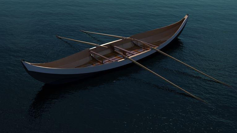 SOLIDWORKS Visualize Render Boat