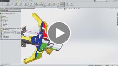 SOLIDWORKS 2015 What's New Video - Sectioning and Exploded View