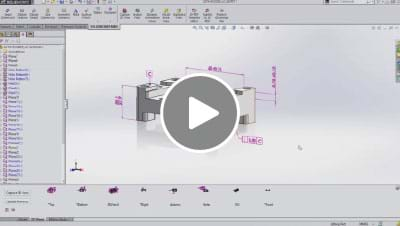 SOLIDWORKS 2015 What's New Video - Model Based Definition MBD