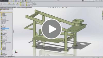 SOLIDWORKS 2015 What's New Video - Weldments