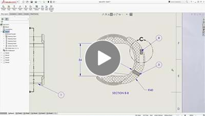 SOLIDWORKS 2017 What's New Video - Drawings