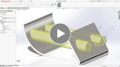 SOLIDWORKS 2017 What's New Video - Sheet Metal