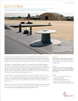 SOLIDWORKS Aerospace Case Study BAE Systems