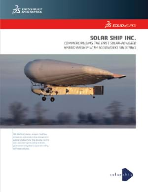 SOLIDWORKS Aerospace Case Study Solar Ship