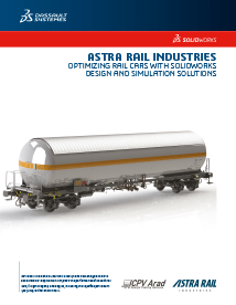 SOLIDWORKS Case Study Astra Rail