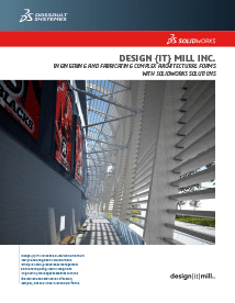 SOLIDWORKS Case Study Design It Mill