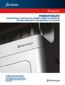 SOLIDWORKS Case Study  Markforged