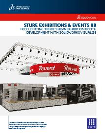 SOLIDWORKS Case Study Sture Exhibitions